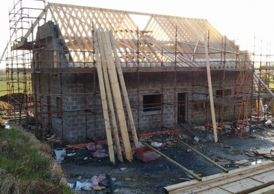 Construction of Roof for Vieo Zinc Roof