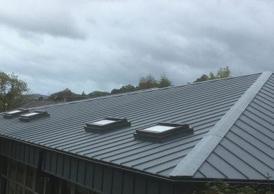 Seamlock Aluminium with Velux Roof Lights